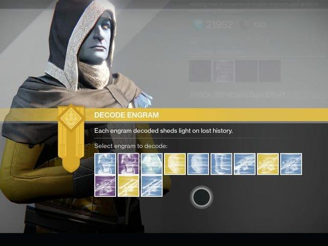 Щось дивне з екзотичними краплями Destiny