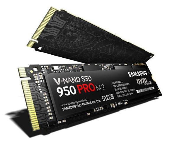 Samsung's snelste SSD leest bij een voor op het gezicht smeltende 2.500 MBps