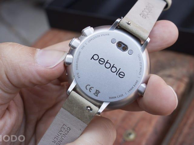 Pebble Time Round é um Smartwatch para pessoas que não gostam de Smartwatches