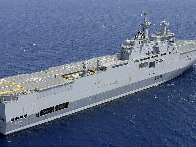 Why Is Egypt Buying Two Orphaned Mistral Class Aircraft Carriers From France?