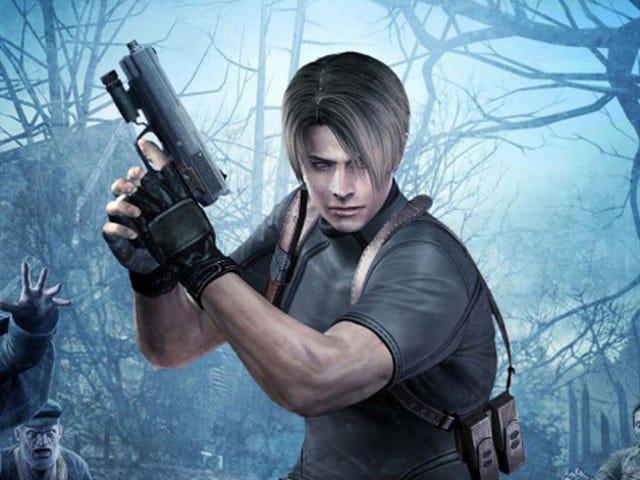 Schlocky e Stiff, <i>Resident Evil 4</i> entanto, continua com um clássico
