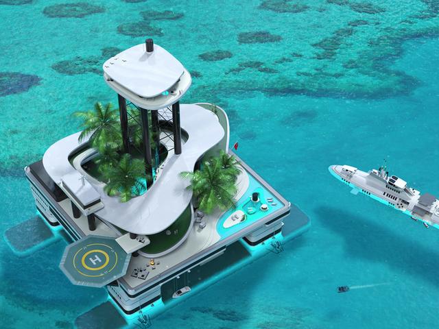 Esta compañía loca de Batshit quiere construir las islas privadas móviles