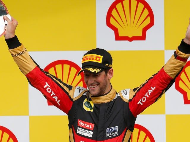 아메리칸 하스 F1 팀, 프랑스 인 Romain Grosjean을 첫 드라이버로 선정 : 보고서
