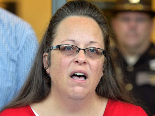 I Got Drunk And Looked At Kim Davis