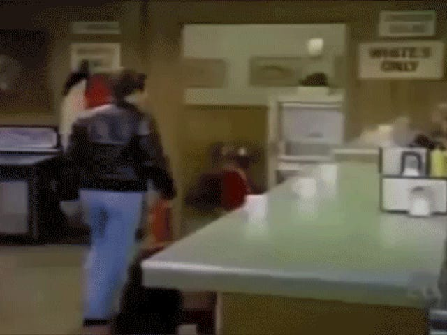 The Fonz fights racism...