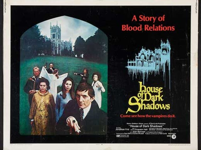 Dark Shadows and Haunted Houses on TCM This Week