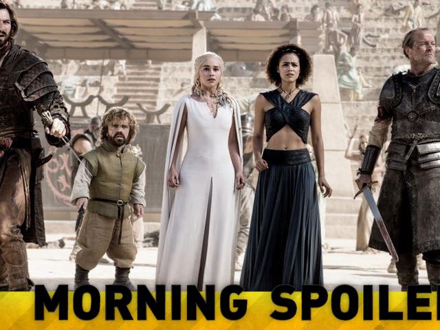Le dernier <i>Game of Thrones</i> Set Pictures inclut un changement de costume extrêmement révélateur!