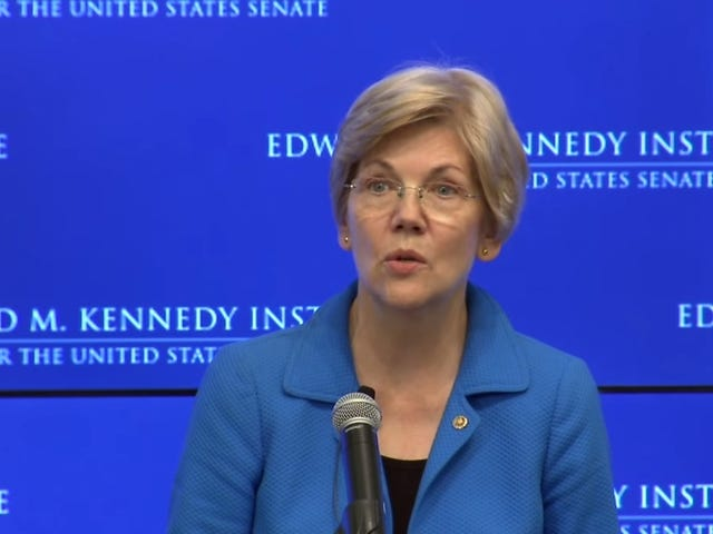 Sen. Elizabeth Warren Echoes Black Lives Matter Ethos, Makes Us Wish She Was Running