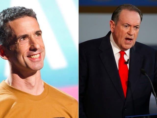 Mike Huckabee Hates Rainbow Doritos, Dan Savage and a Charity to Help LGBT Teens