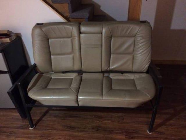CL artículo libre: asiento trasero / sofá