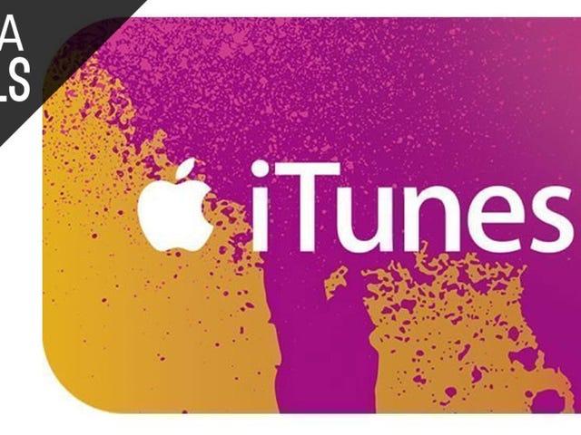 Simpan 20% pada Pelbagai Kad Hadiah iTunes