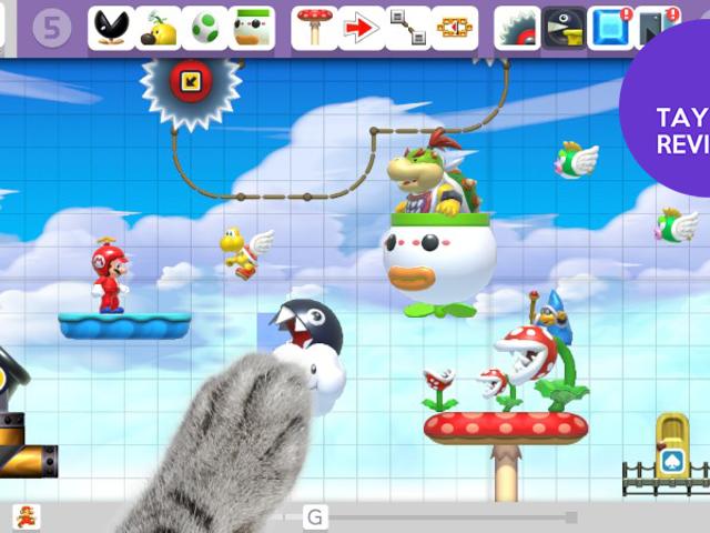 <i>Super Mario Maker</i> : La revue TAY