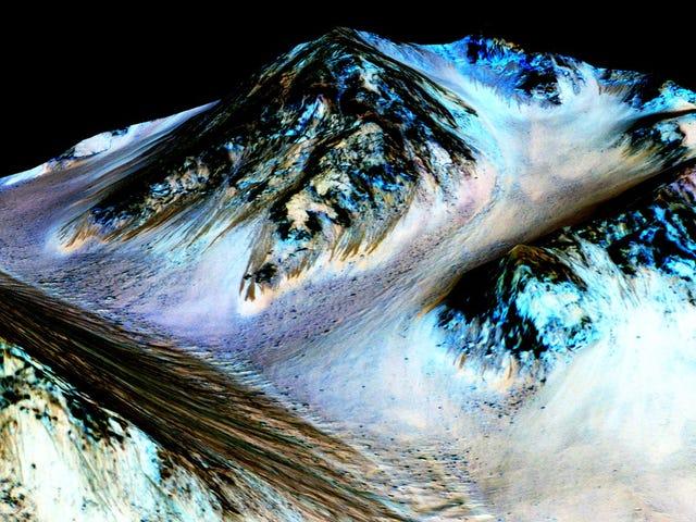 Is er leven op Mars?  Hier is wat de water NASA zojuist heeft gevonden
