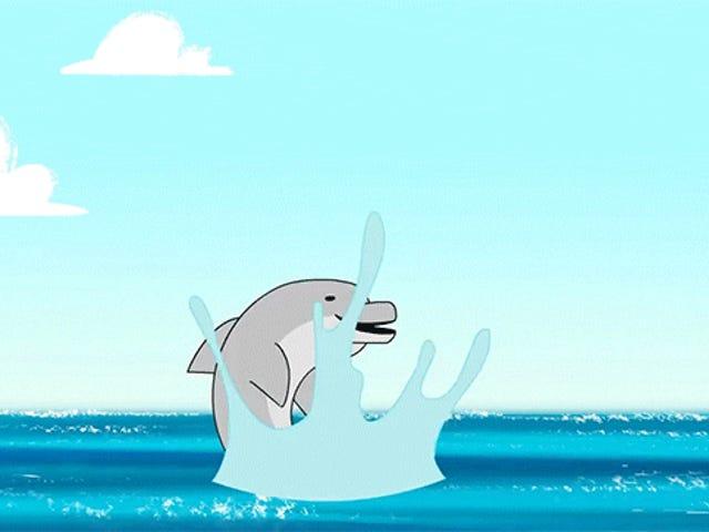 돌고래가 과학적으로 정확한 Flipper는 너무 지능적입니다.