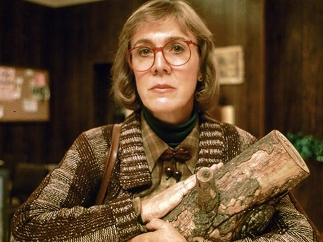 RIP Twin Peaks Log Lady Catherine Coulson