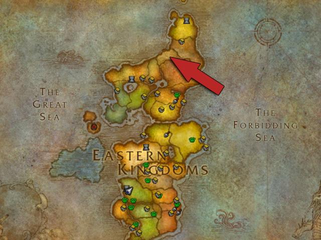 Hur kommer man in i <i>World of Warcraft</i> &#39;s Hidden Zone
