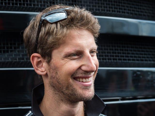 Il nuovissimo team americano di F1 annuncia accidentalmente Romain Grosjean come pilota nell'URL