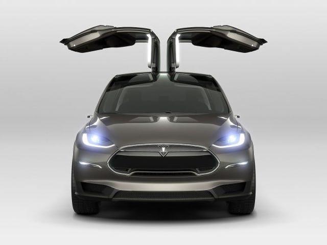 Model X Tesli będzie miał zakres 257 mil: EPA