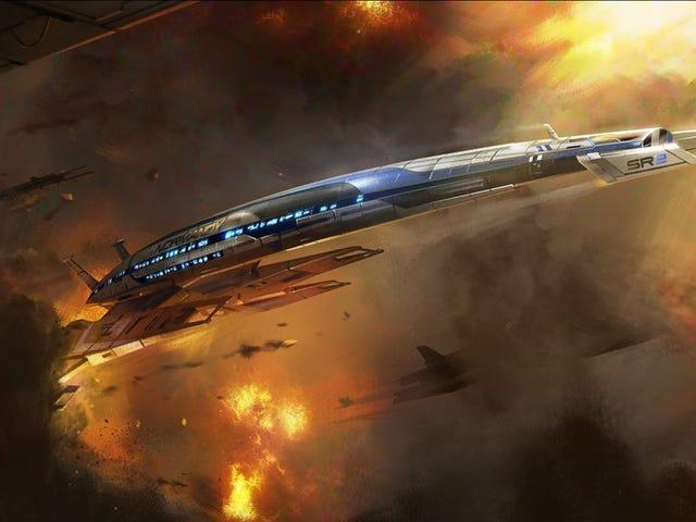 <i>Mass Effect</i> chuyến đi công viên chủ đề của riêng mình