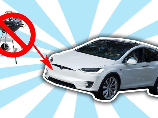 Bon sur Tesla pour faire le modèle X sans grille