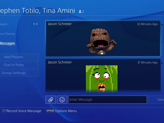 Dear Lord, The PS4 Has Stickers Now