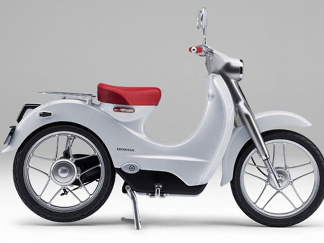Hondan Electric Retro Scooter voisi olla söpö halpa kuljetus kilpailija Vespalle