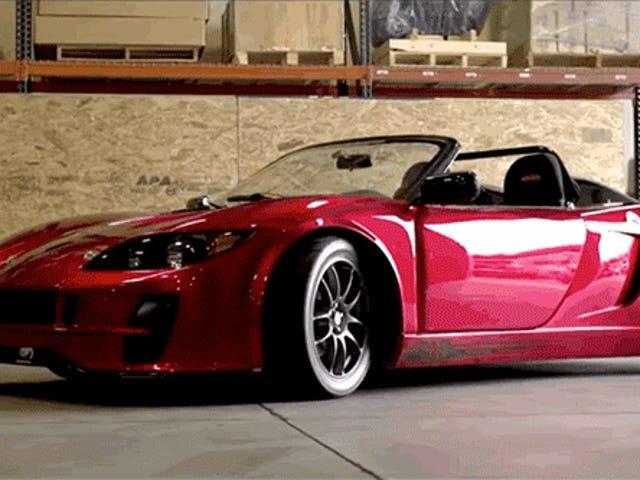 Factory Five zal uw Subaru omtoveren tot een Mid-Engined Roadster