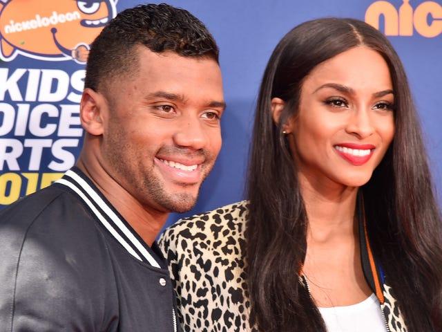 Ciara ja Russell Wilson ovat tulleet pariksi