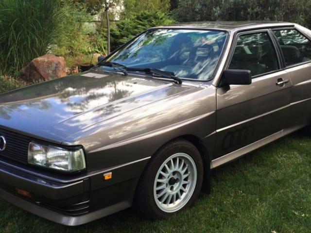 Hur om 1985 Audi Ur Quattro för 79,950 dollar?