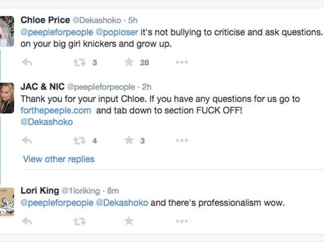 #Peepleのソーシャルメディアのメルトダウンである皮肉にもっと