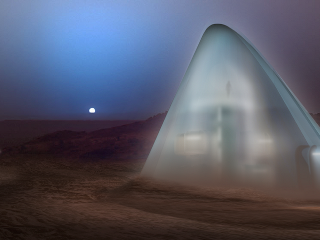 Ruimte-iglo's, lavabuizen en hobbitgaten: hier zijn onze toekomstige leefgebieden van Mars