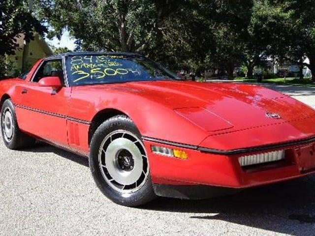 Den mest Cougarific C4 Corvette On Craigslist