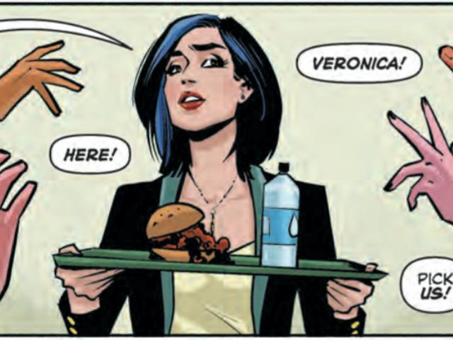Archie + Betty + Veronica는 사랑의 삼각 지대가 아닙니다.  그것은 증오의 삼각 지대입니다.