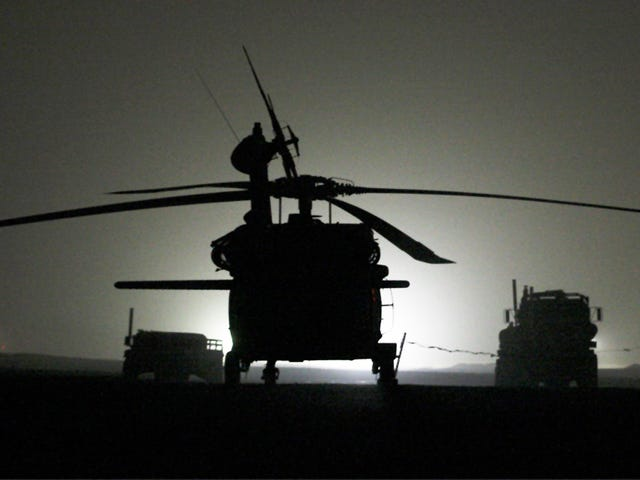 Book Reveals New Details About Stealth Black Hawks Used In Bin Laden Raid