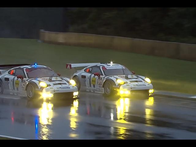 Porsche Just Won Petit Le Mans W Freakin 'GT Car