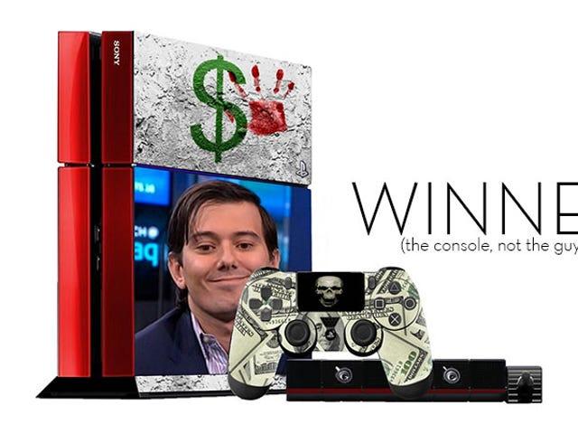 <i>Kotaku</i> &#39;Shop Contest: Den Ugliest PlayStation 4: Vindere!