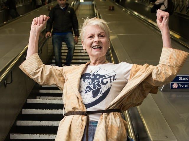 Vivienne Westwood không nói xấu về tạp chí thời trang