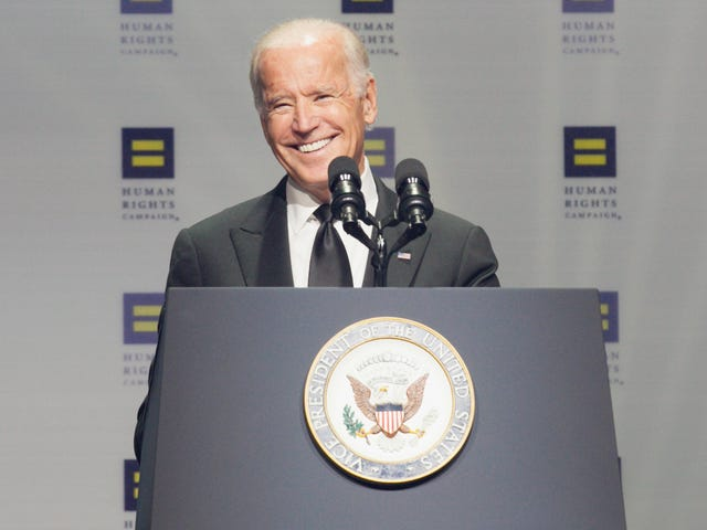 Hillary Clinton and Joe Biden Both Gave Pro Transgender Rights Speeches This Weekend