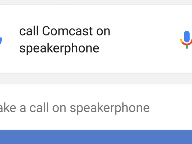 Call Someone on Speakerphone With a Google Now Command