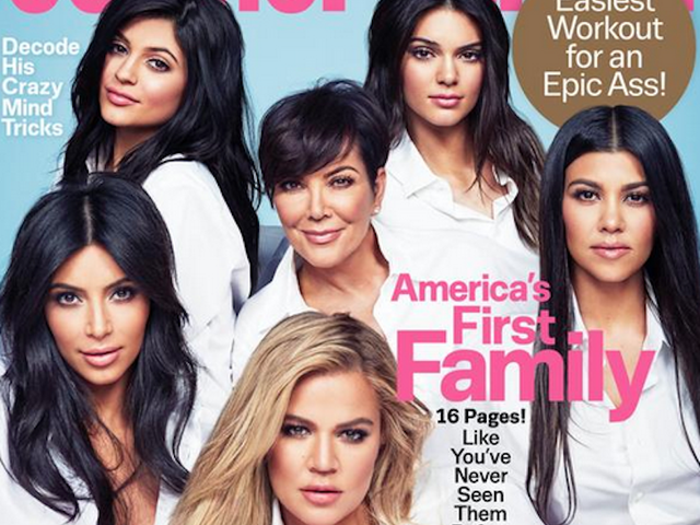 People Are Pissed at Cosmopolitan for Calling the Kardashians 'America's First Family'