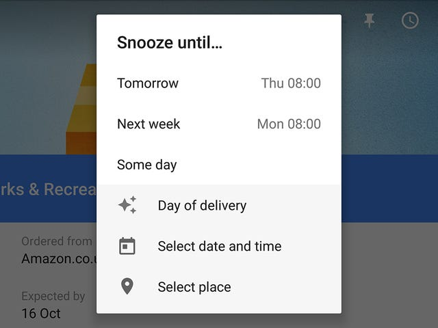 Snooze Emails Until Just the Right Time With Inbox By Gmail