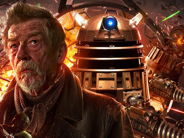 约翰赫特正在获得他自己的神秘Doctor Who系列(音频上)