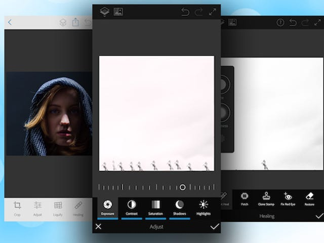 Photoshop Fix Is a Simple Photo Retouching Tool for iOS