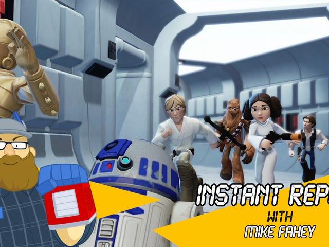 Disney Infinity la trilogie originale de Star Wars est bien différente