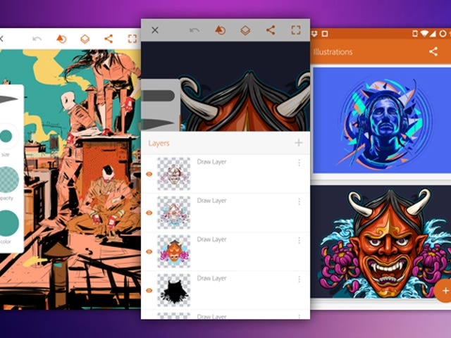 Adobe Illustrator Draw Creates Vector Images, Exports To Desktop App