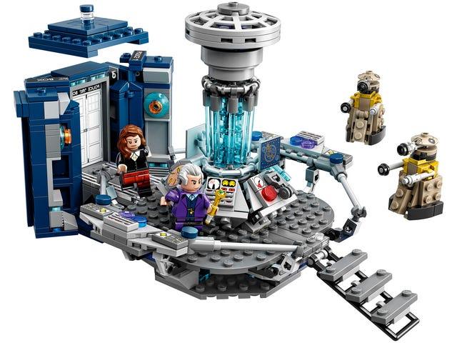 Лего Doctor Who нарешті тут, і це виглядає дивовижно