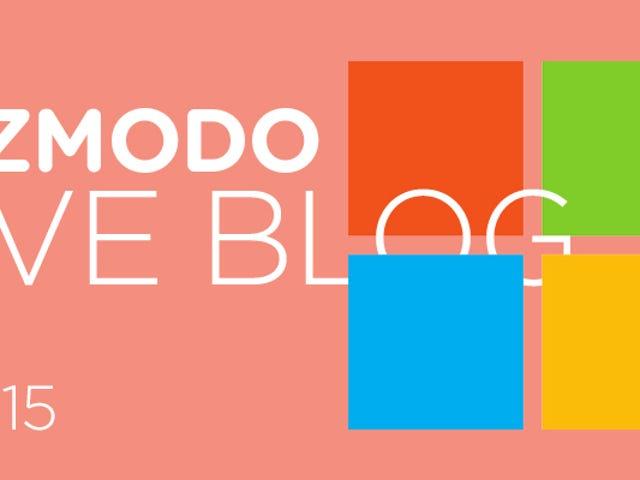 Følg vores Microsoft Liveblog og se begivenheden live her kl. 10.00 EST
