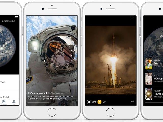 Twitter lanza Momentos en Estados Unidos, una sección para descubrir el mejor contenido del día