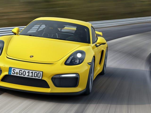 Porsche GT4 Clubsport - ваш новый гоночный автомобиль Cayman GT4