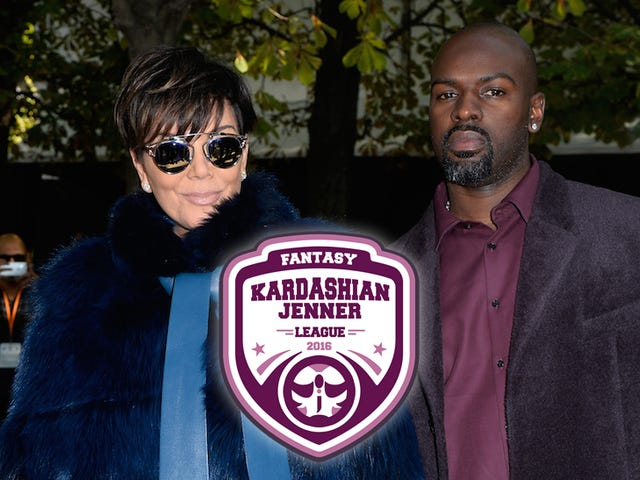 Fantasy Kardashian-Jenner League-ranking: High Stakes viikolla 1